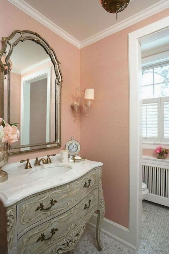 Great and softly bathroom paint ideas.