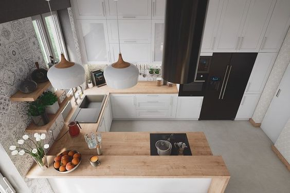 U design kitchen