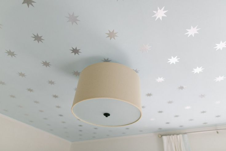 Ceiling paint ideas for girls room.
