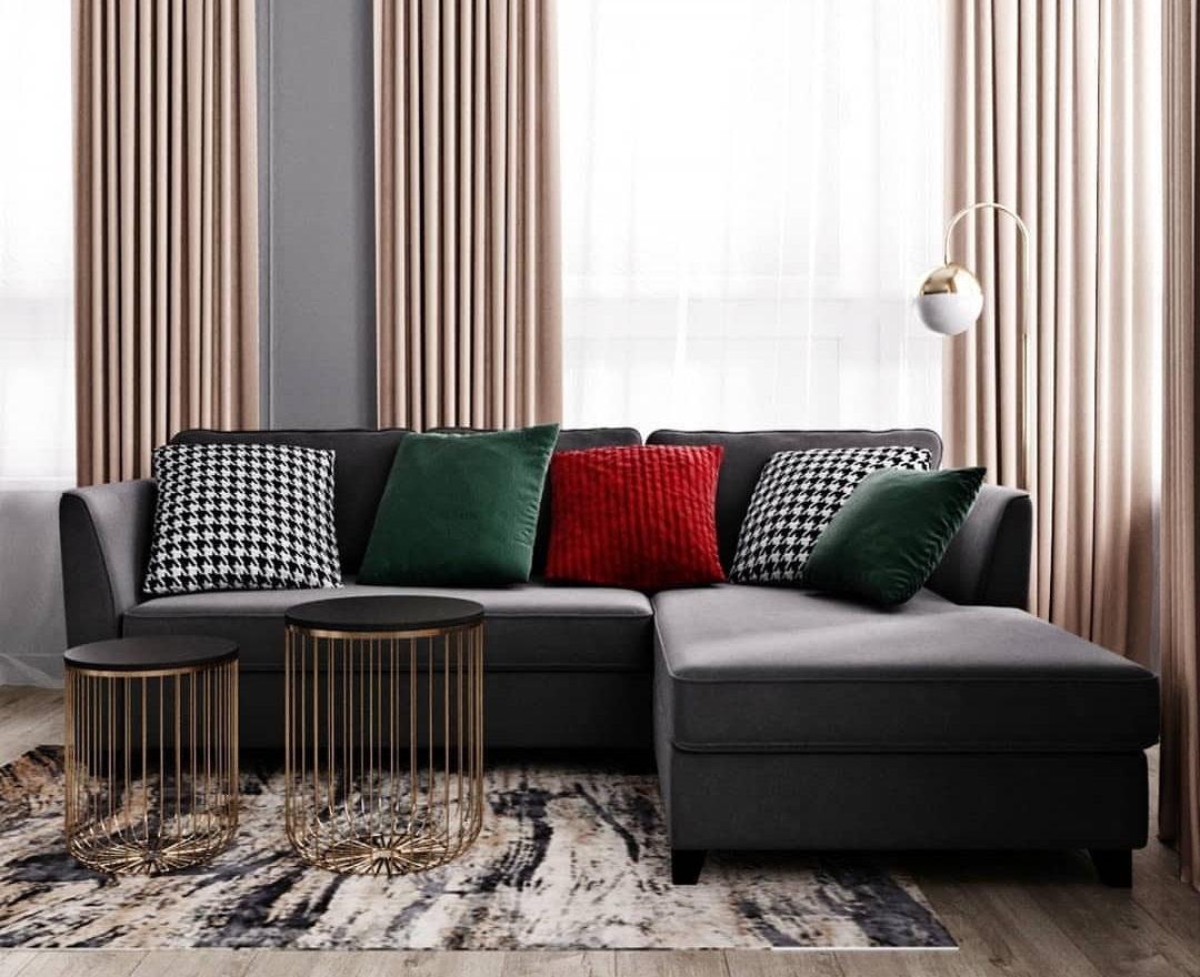 Small living room ideas. L design. Best if you want to have more space in your room.