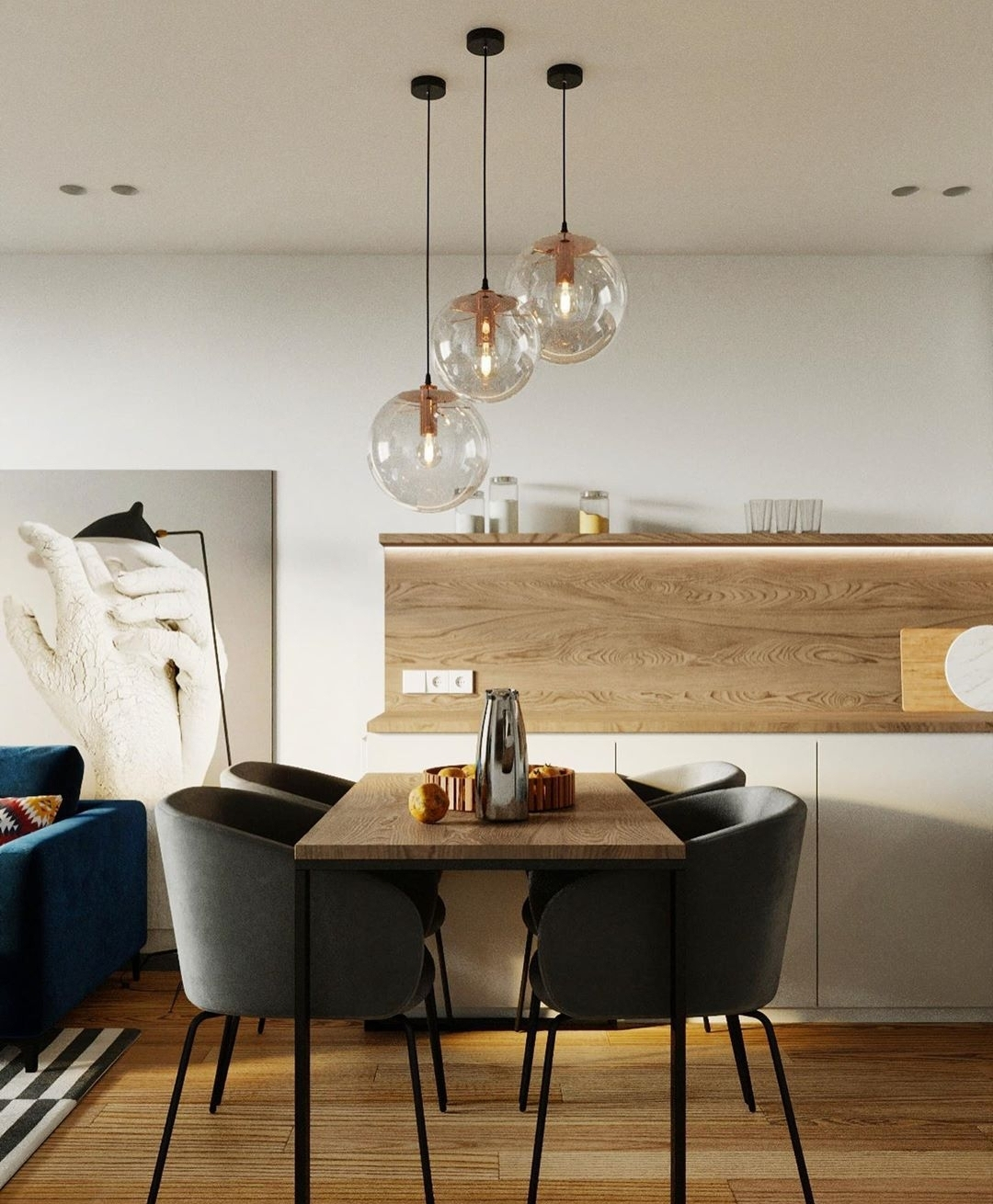 Best idea for small room dining room.