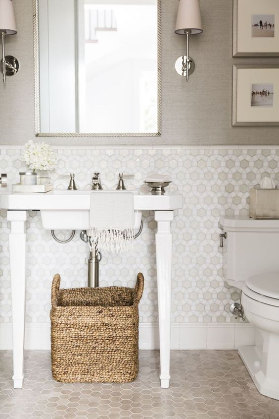 Taupe best color for bathroom.