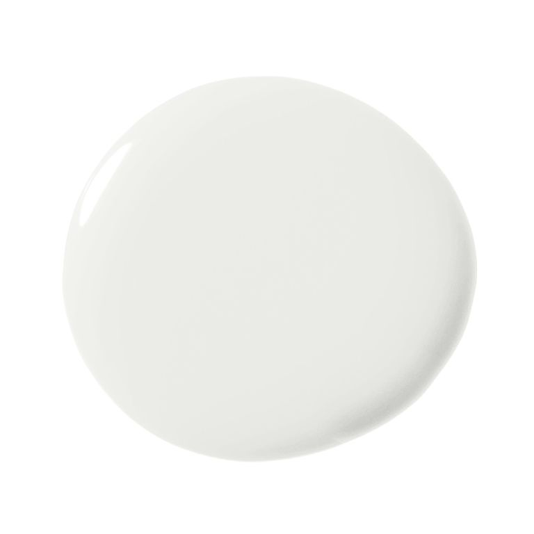 It's a beautiful, cheery and clean, warm white that doesn't lean yellow or blue or gray.