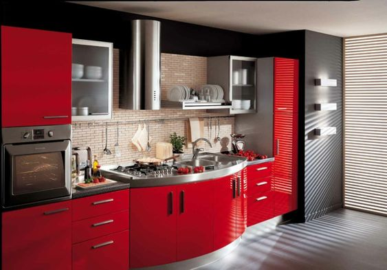 Power ranger is your soul describe. This is the one of best colors of  kitchen elements.