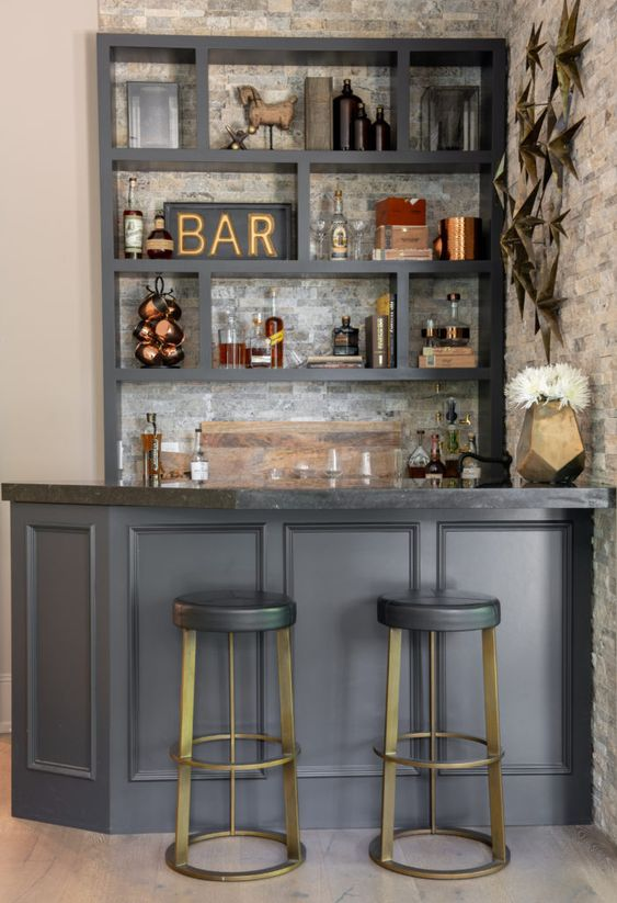 design Bar in the living room