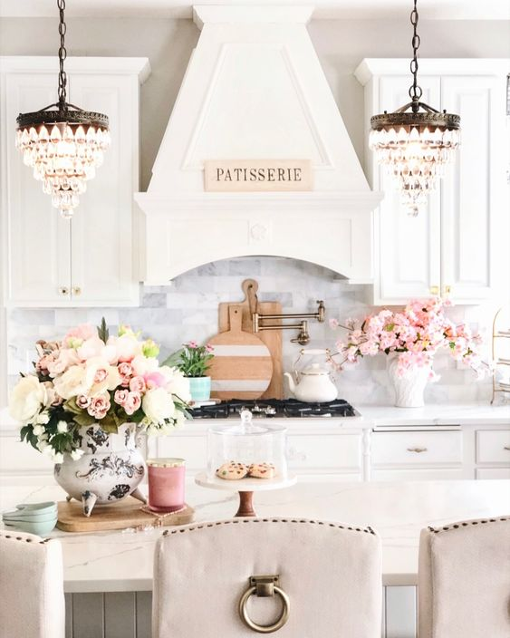 Spring kitchen design