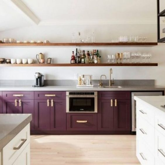 Best two colors for kitchen design