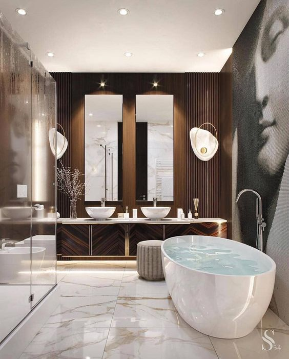 Modern-Style Bathrooms