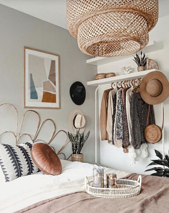 design Bedrooms in Boho style