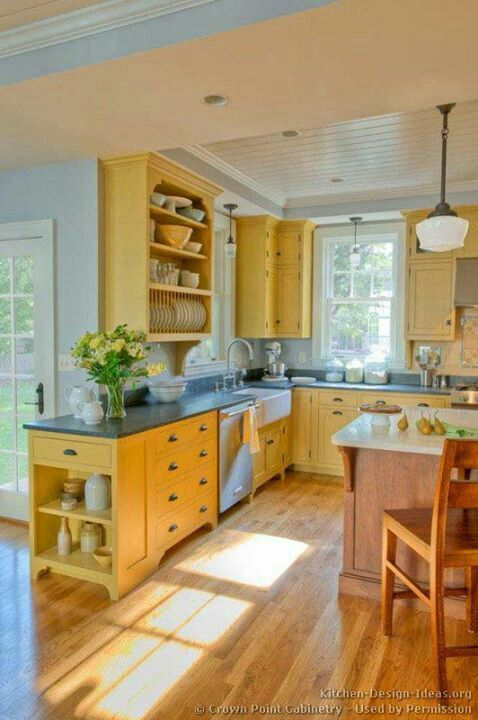 Beautiful Yellow Kitchen Ideas