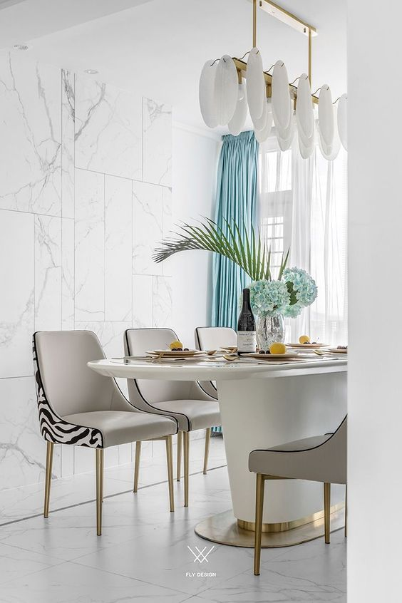 How to design modern dining room