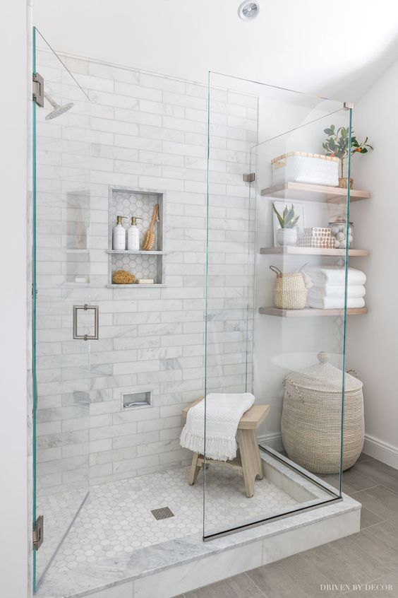 Use marble tiles