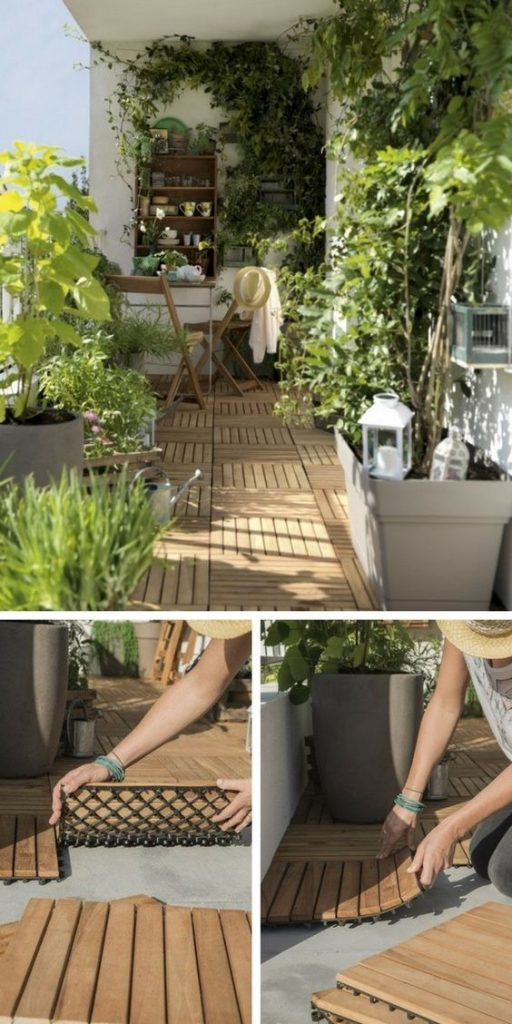 How to design a small balcony