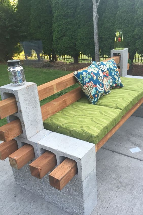 How to Build a garden couch